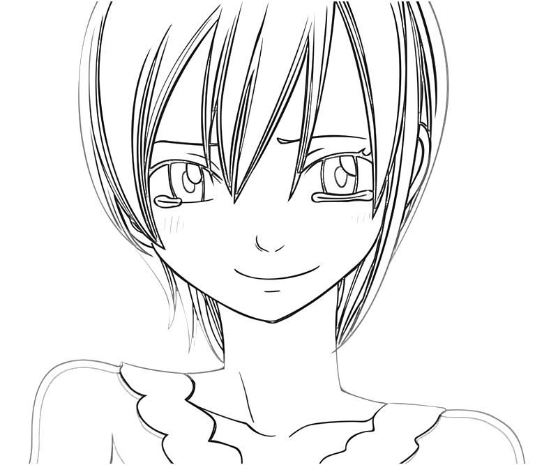Anime Coloring Pages Lisana Cry