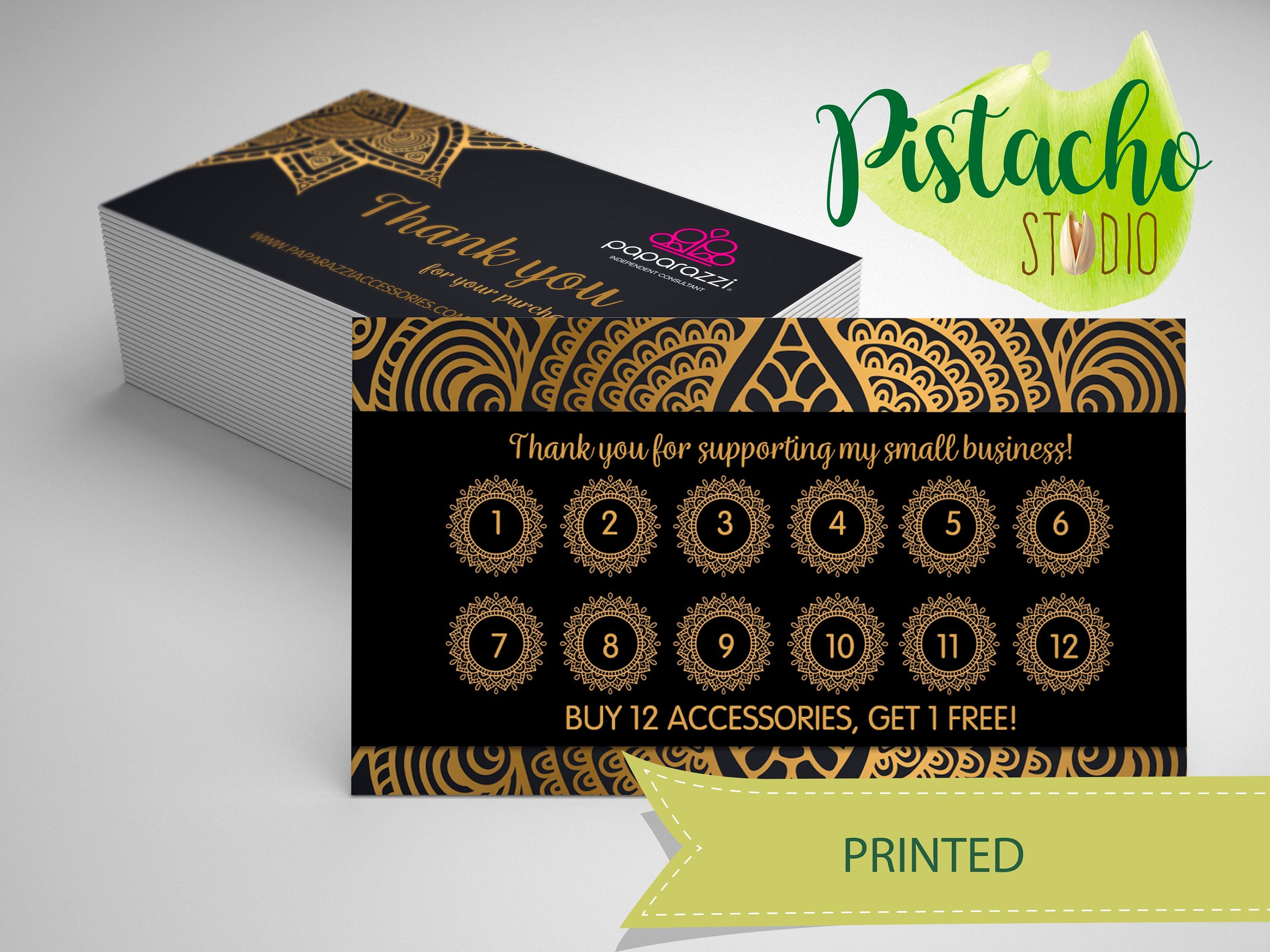 Paparazzi Loyalty card- Jewelry Consultant – Accessories- Mandala ...