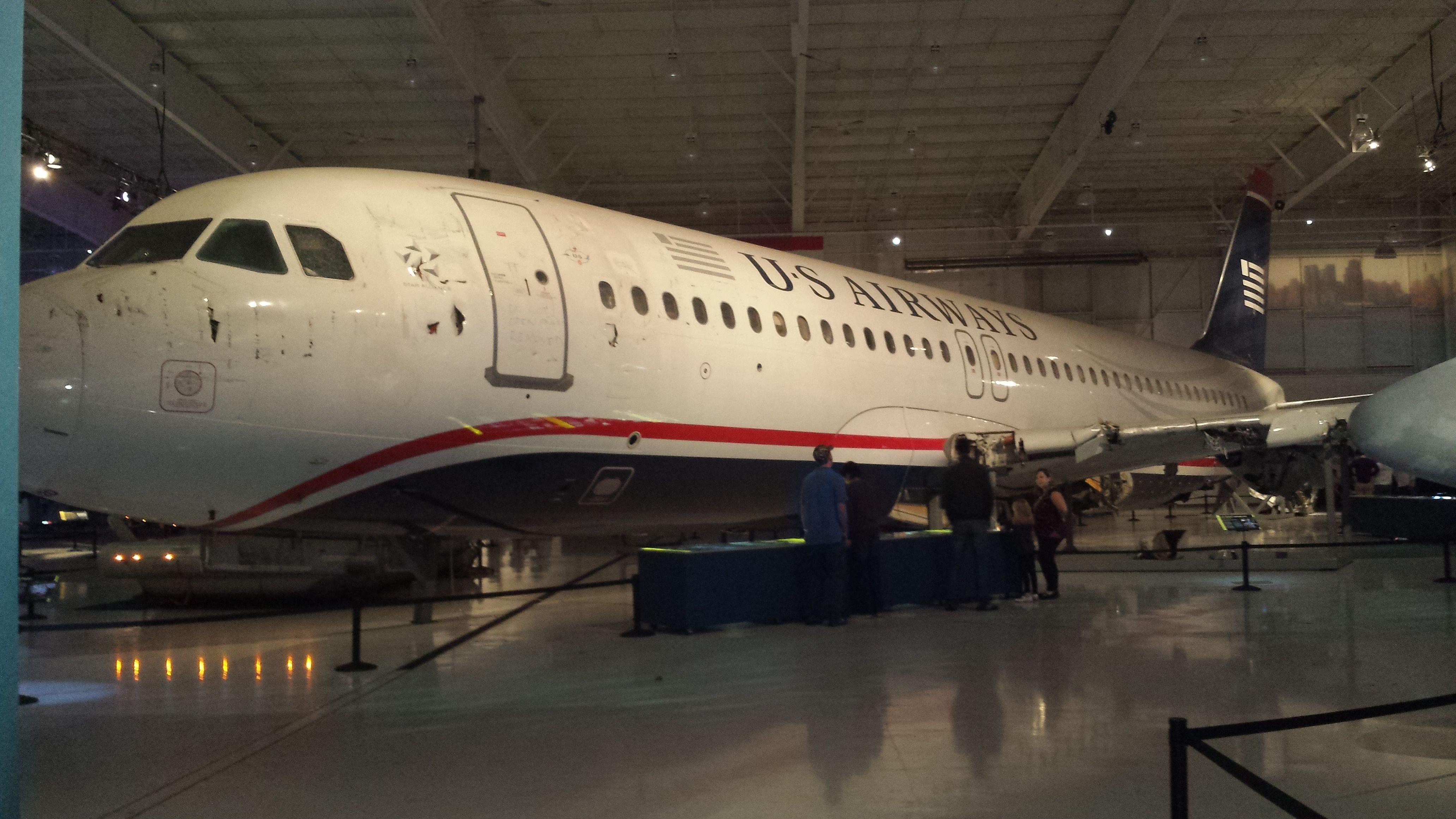 Image result for hudson river plane in museum