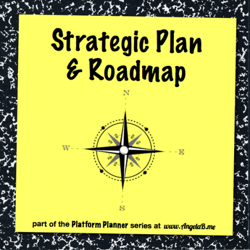Platform Planner Simple Strategic Plan Roadmap  Creative Business