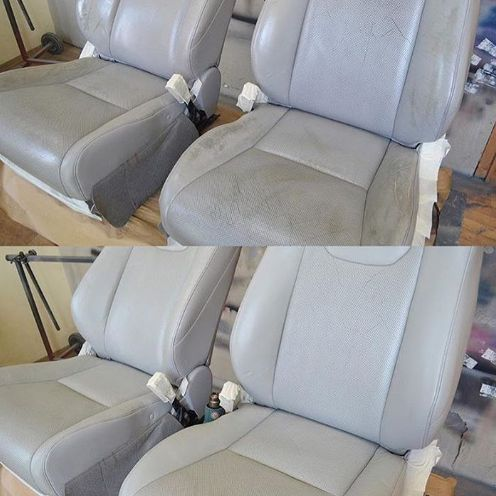Professional Restoration Of Leather Car Seats Completed By Our