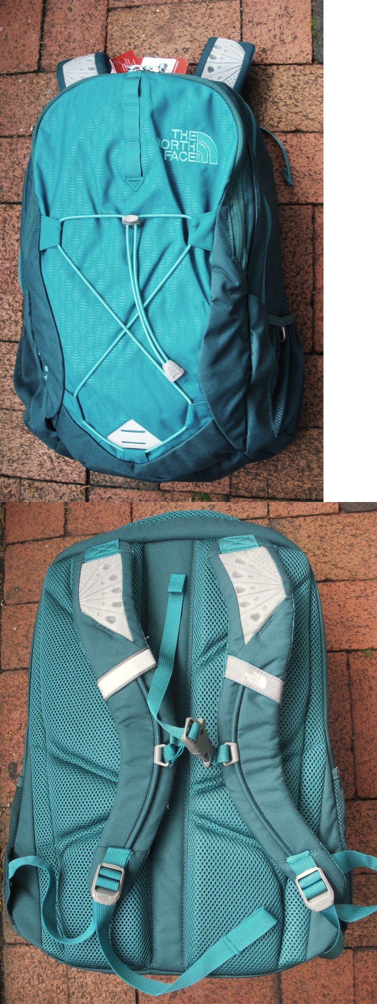 Day Packs 87122  The North Face Womens Jester Backpack- Laptop Sleeve-Chj3- 1b6f918ff5c0e