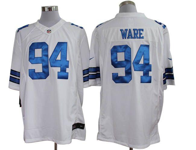Dallas Cowboys  94 DeMarcus Ware White Limited Jersey  f3c1c0d22