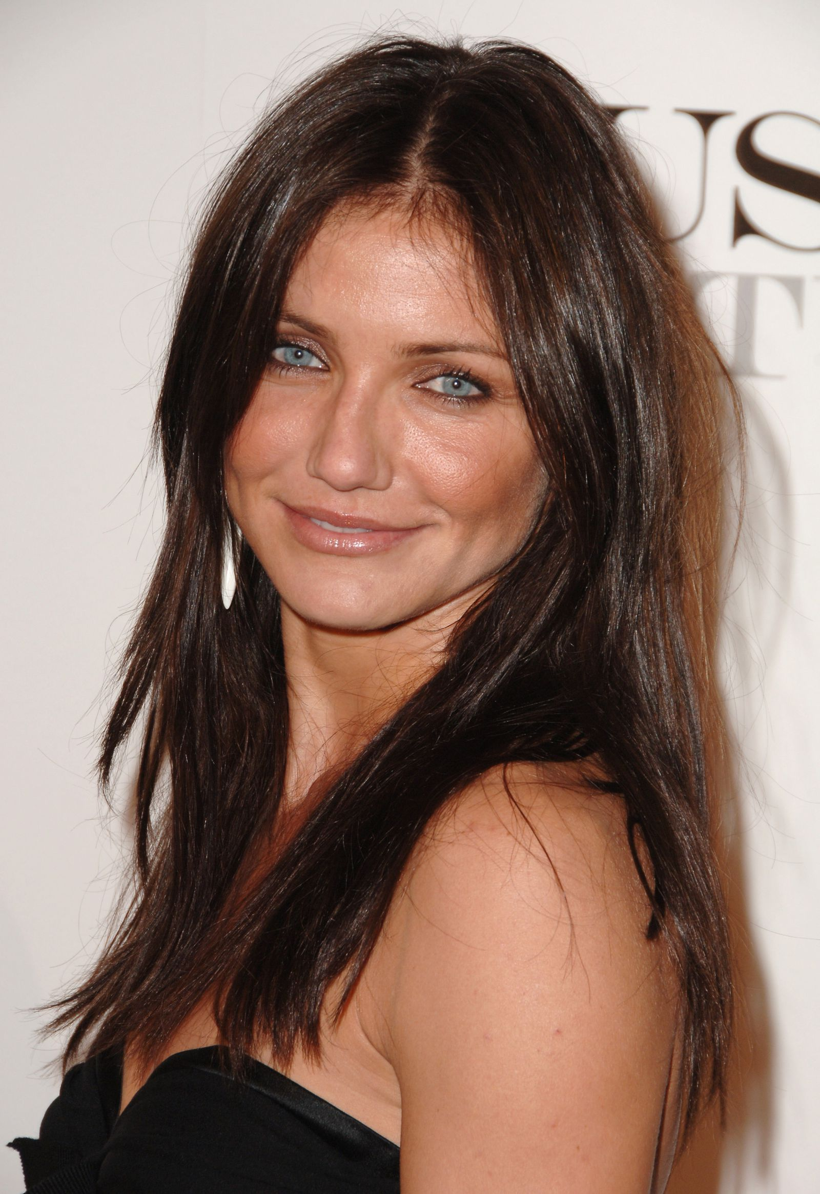 13 Famous Blondes Without Their Blonde Hair Cameron Diaz Hair