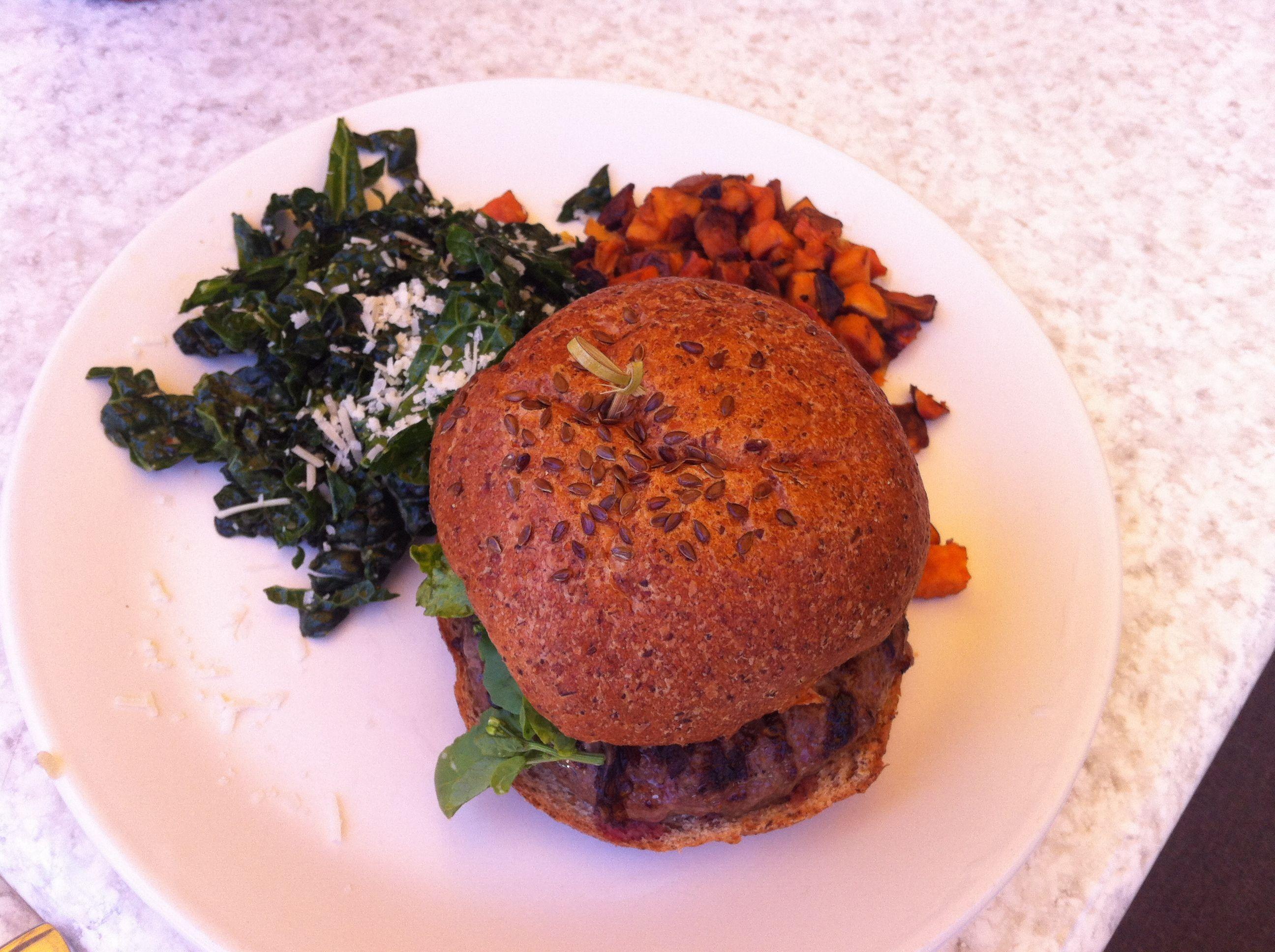 True Food Kitchen Burger The Burgertrue Food Kitchen Los Angeles  Los Angeles