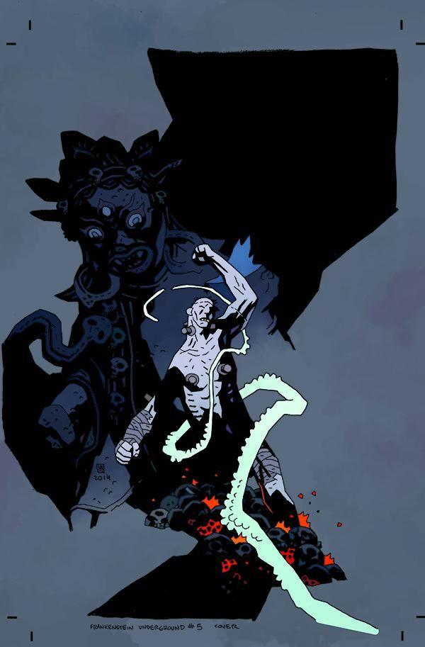 Mike Mignola, Frankenstein underground # 5
