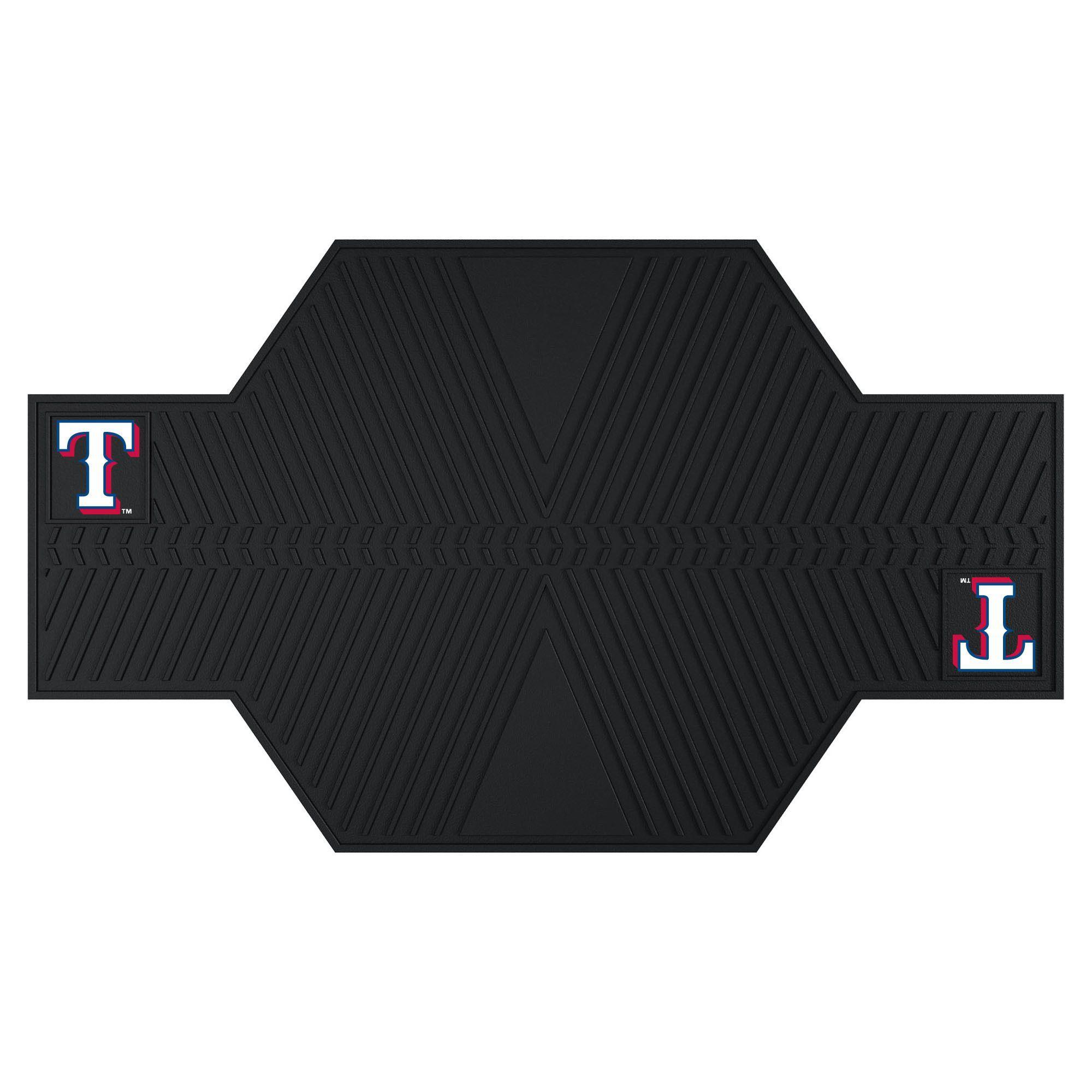 MLB - Texas Rangers Motorcycle Mat