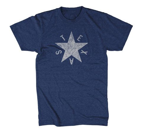 DeZavala Star Flag - T-shirt – Tumbleweed TexStyles