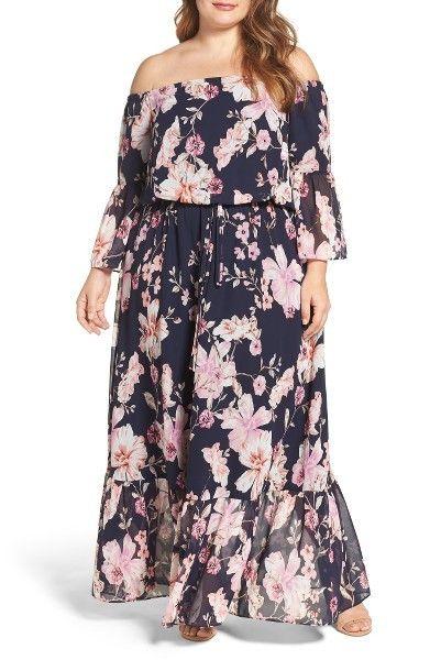9c34fbf2e55 10 Super Cute Plus Size Floral Dresses- A Thick Girl s Closet