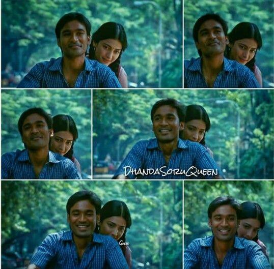 3moonu Tamil Movie Dhanush And Shruthi Hassan Everlasting Love