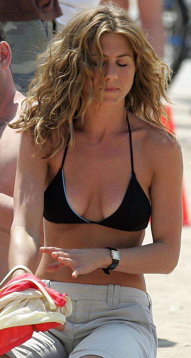 Jennifer Aniston Sexy Bikini Top
