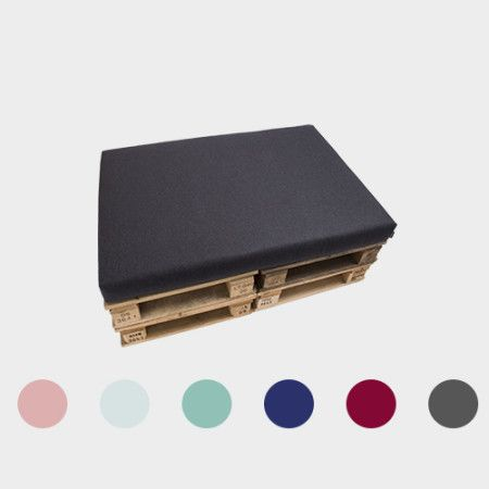 Cushion for Pallet from PYTT Living available in six colors. Fits standard EURO pallets for your DIY projects.