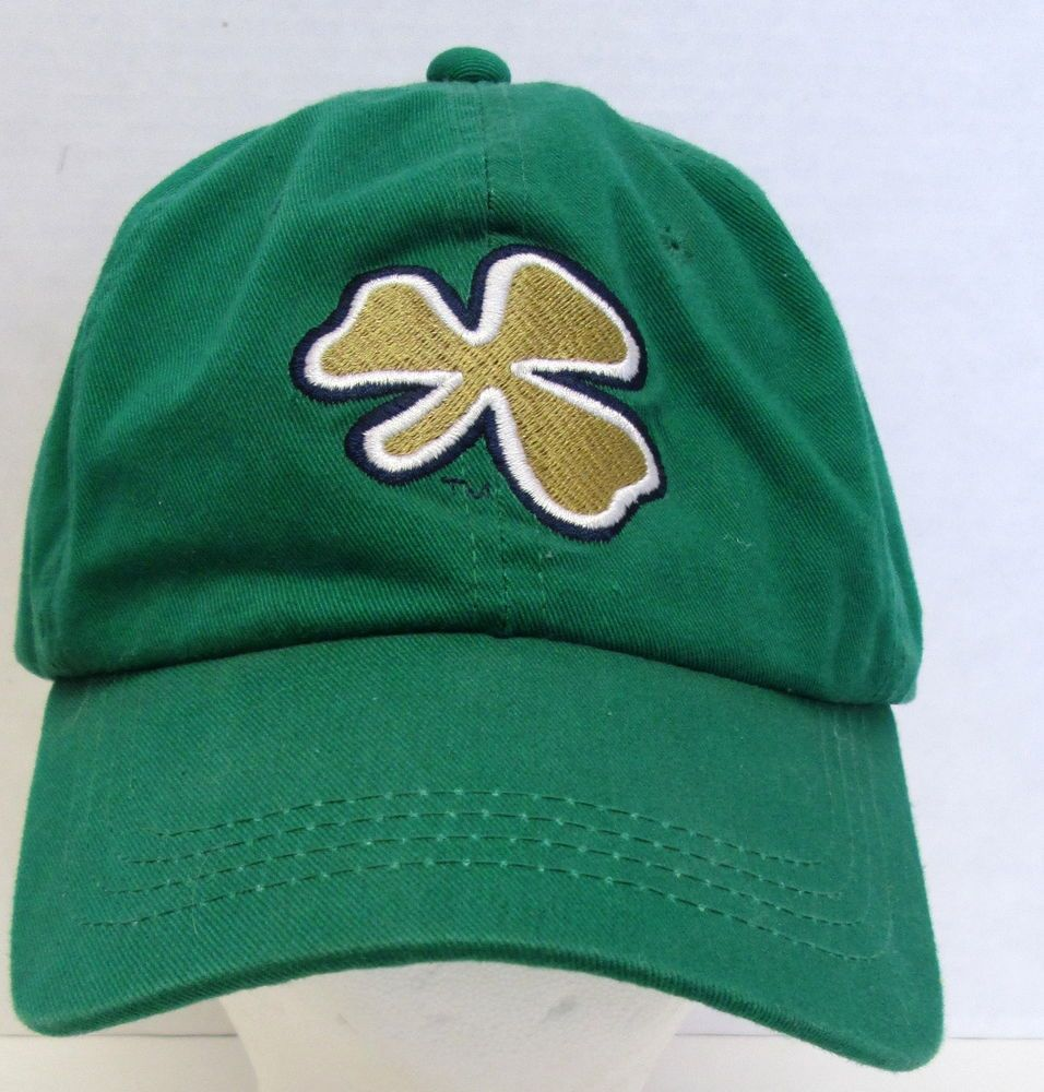 brand new c4952 0b9f8 ... best price notre dame university fighting irish w embroidery clover  baseball hat cap ncaa outdoorcap baseballcap