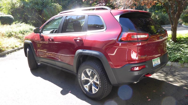 2016 Jeep Cherokee Trailhawk Suv Review Off Road Ready With