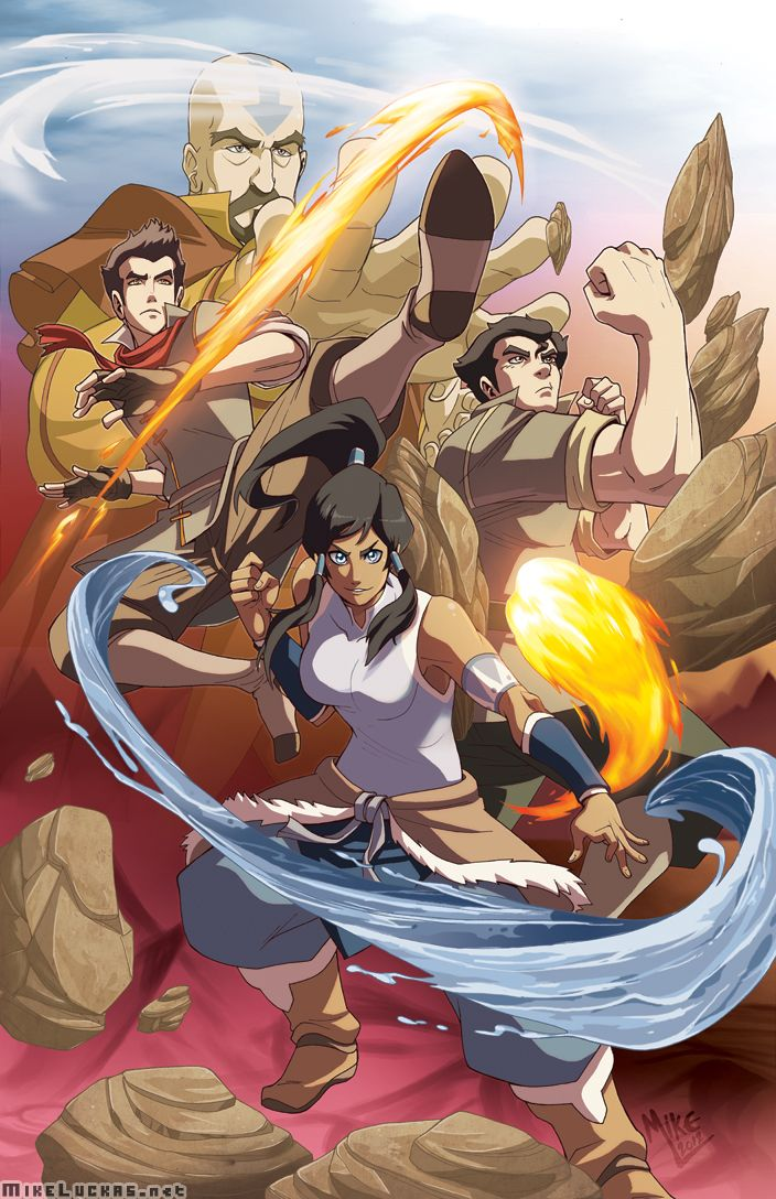 The Legend Of Korra Fan Art : legend, korra, Legend, Korra, MikeLuckas, DeviantART, Avatar, Cartoon,, Korra,, Airbender