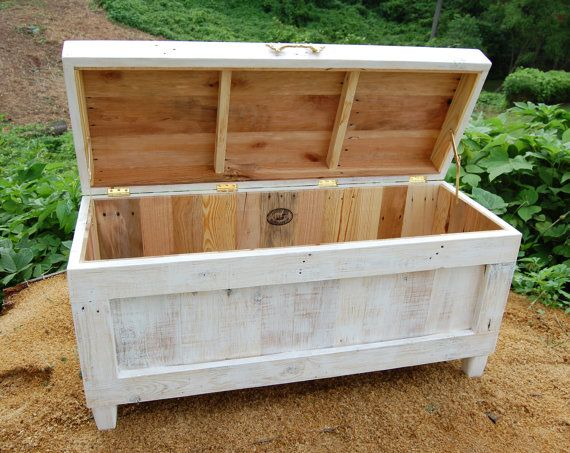 Extra Large Hope Chest / End of the Bed Bench /Blanket Storage ...