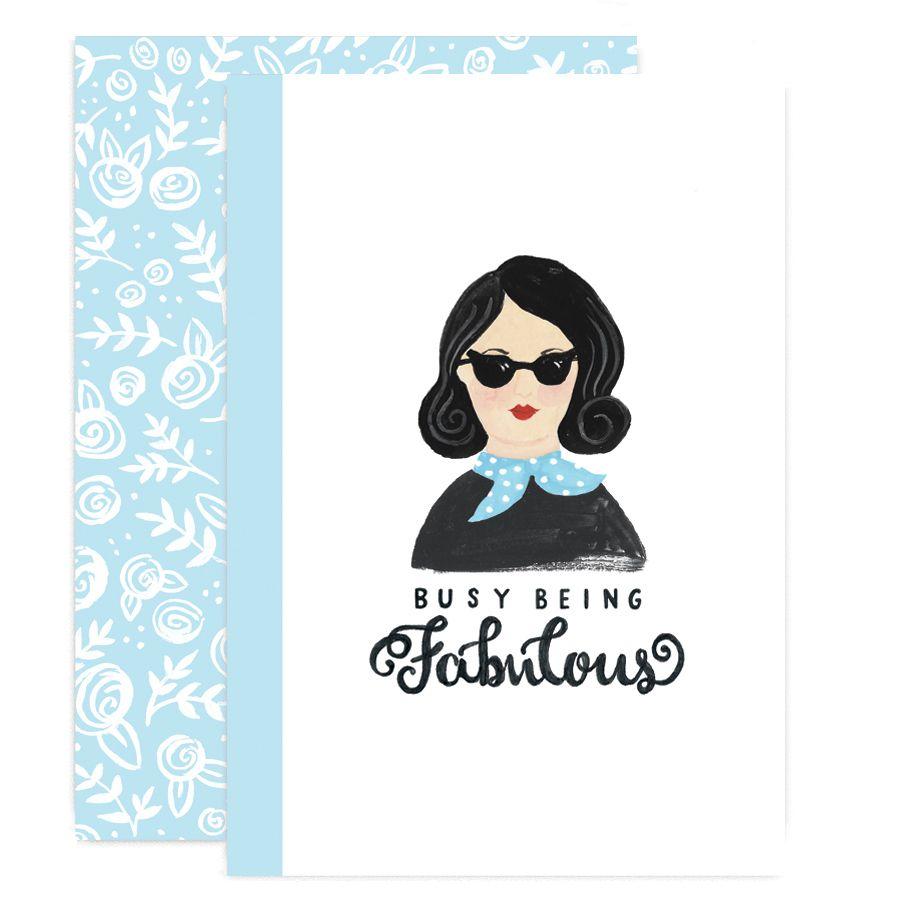 FABULOUS WOMAN Notebook Set by Jade Fisher #Shiro #Echo #Digital #Favini