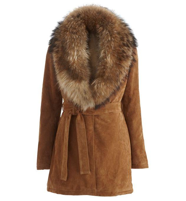 Cuir Vestes Et Gdm Fourrure Manteau Grain Pour Femme Sur qx5fXT4w