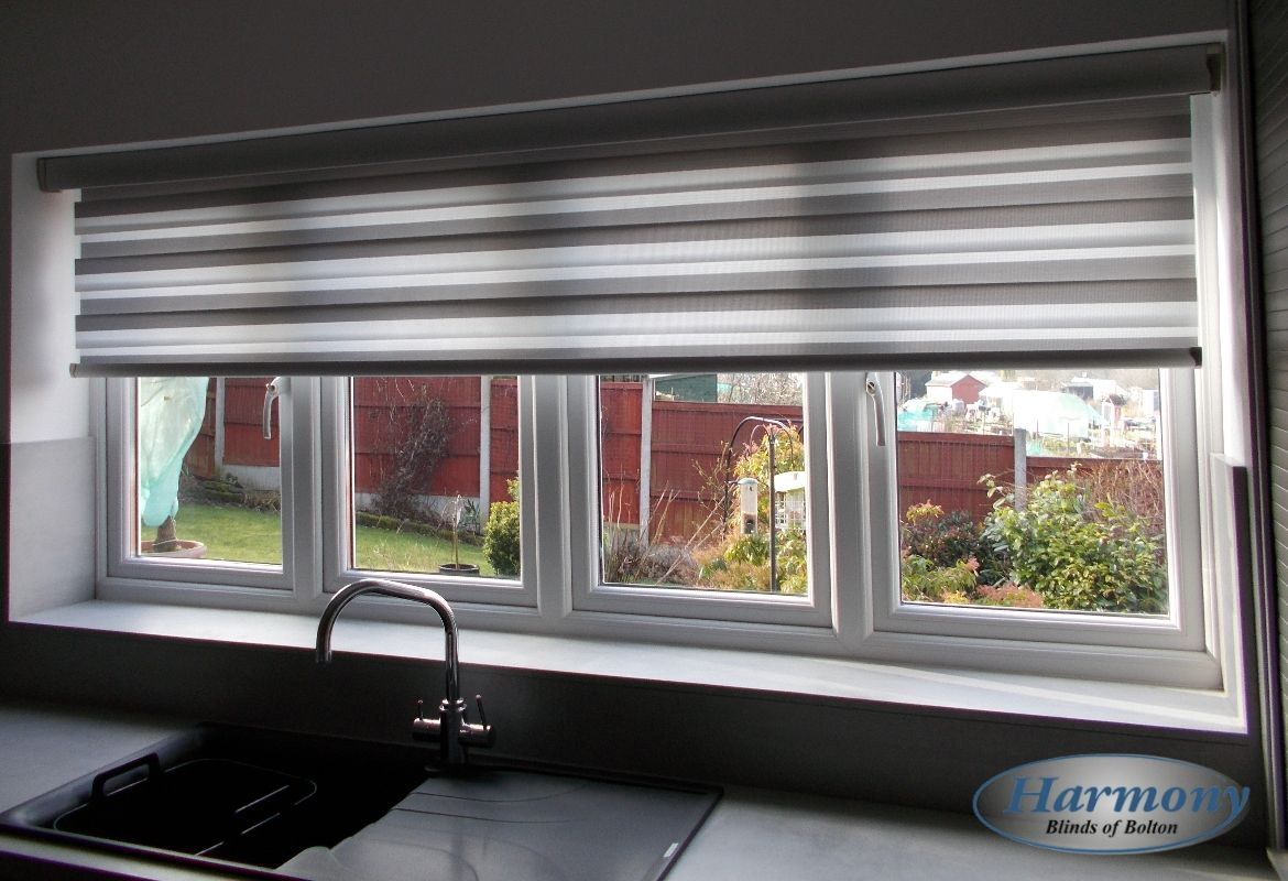 Blinds-Made To Measure ZEBRA Day And Night Quality and Modern