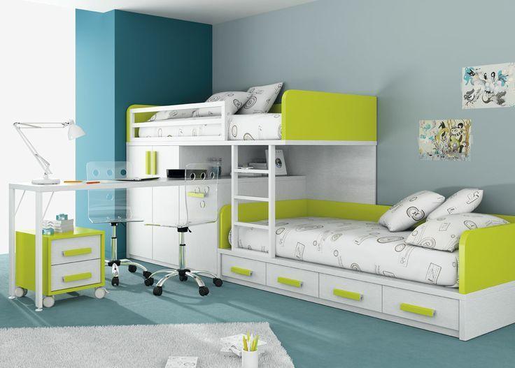 Decoracion de cuartos para 2 ni os de 8 a 12 a os google for Armario habitacion nina