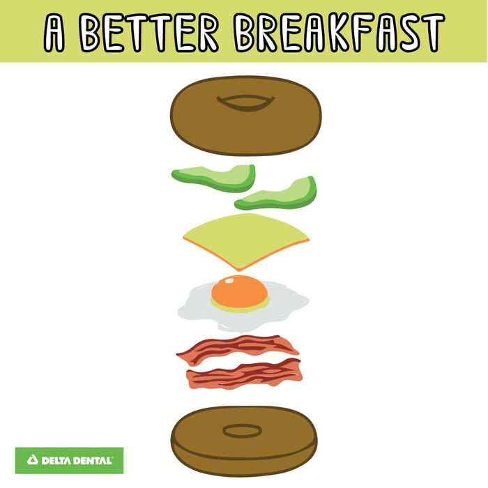Have a better breakfast deltadental Dental insurance