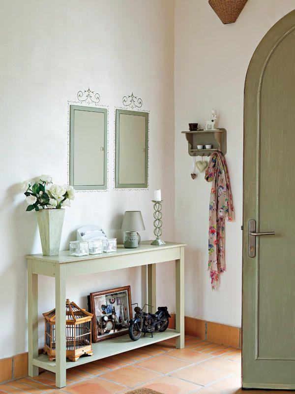 Ambientes de la casa recibidor entrada y decoraci n - Decoracion de entradas de casas ...