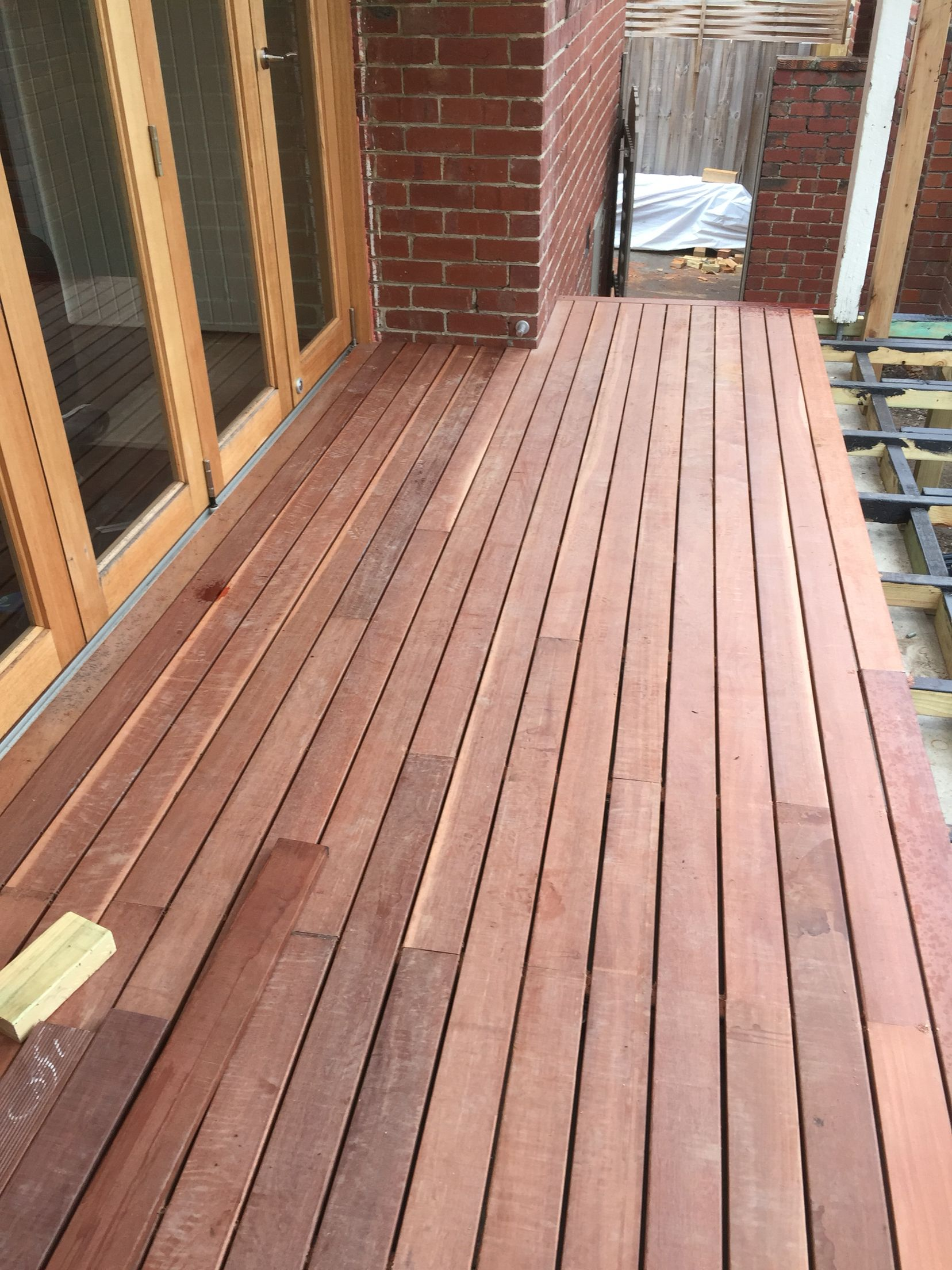 Awesome Start To Lay Deck