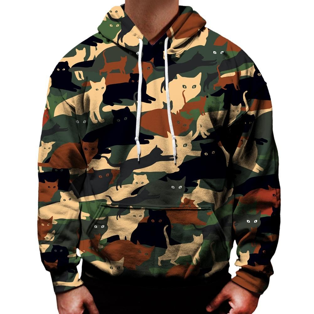 Camo Hoodie Friends Cat O Flage Hoodie Products Hoodies Camo Hoodie Camouflage