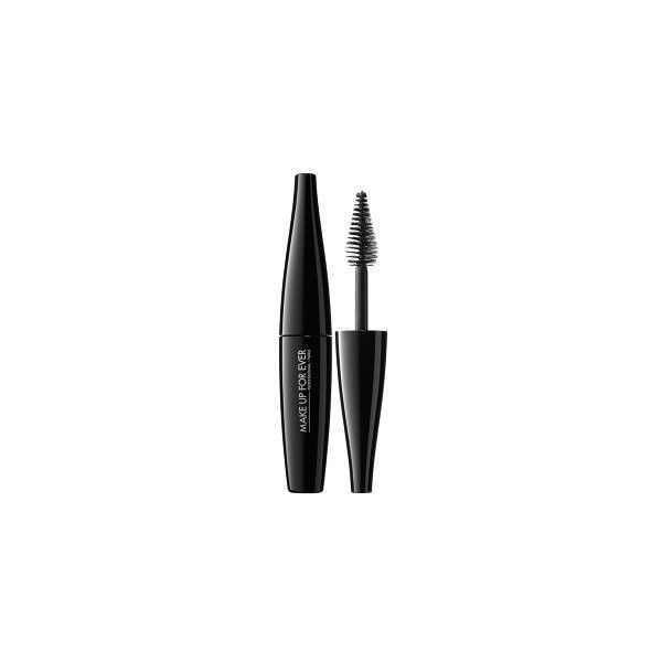 dbf74094b1d MAKE UP FOR EVER Smoky Extravagant Mascara ($12) ❤ liked on Polyvore  featuring beauty products, makeup, eye makeup, mascara, curling mascara, ...