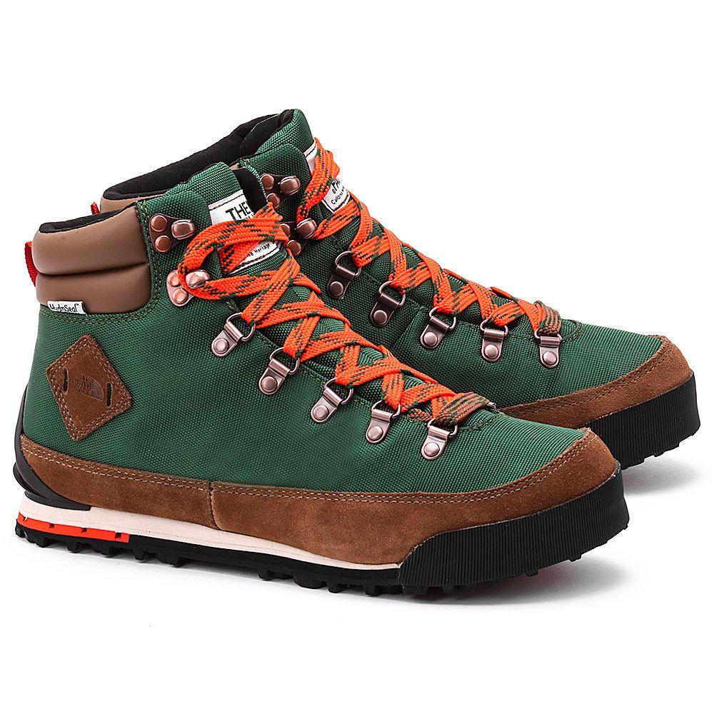 The North Face Back To Berkeley Zielone Nylonowe Trekingowe Meskie Toapplf9z Toapplf9z Buty Mezczyzni Trekingowe Mivo Boots Waterproof Boots Shoes