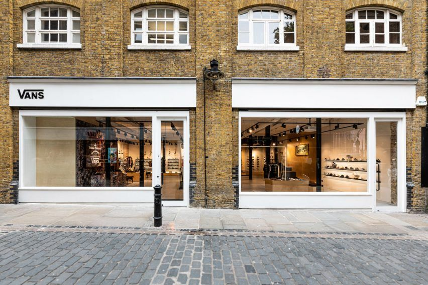 Vans Launches Exhibition Space In Covent Garden Concept Store Covent Garden Concept Store Shop Front Design
