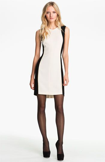 rag & bone 'Dupont' Metallic Piped Sheath Dress available at #Nordstrom