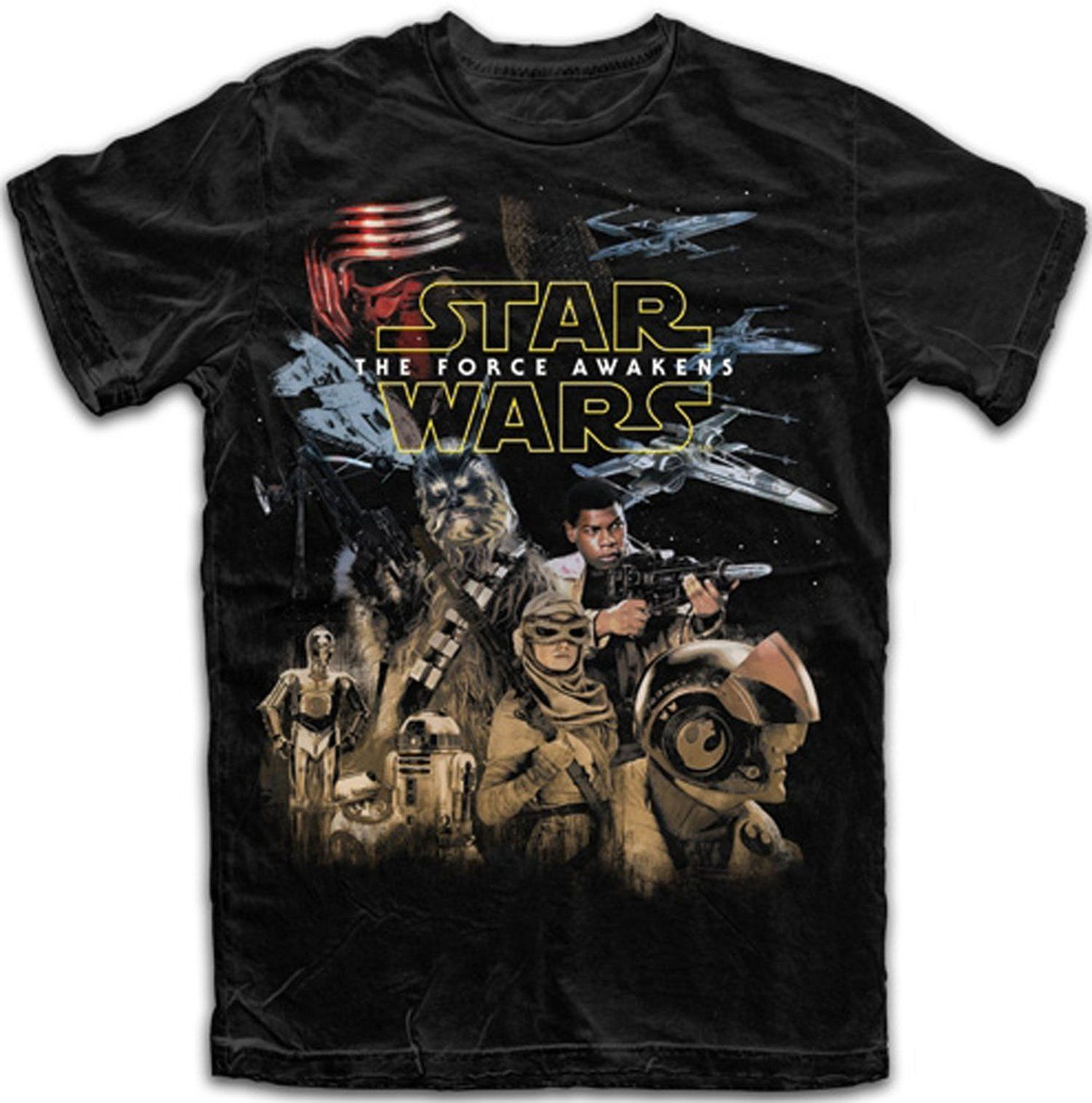 STAR WARS Droids  T-Shirt  camiseta cotton officially licensed