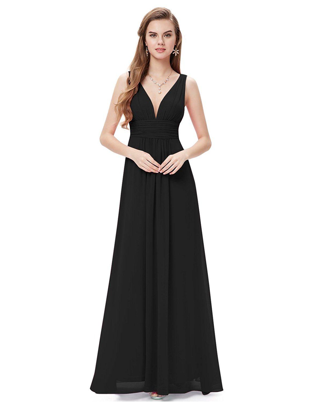 cb88543260 Ever Pretty Sleeveless V-Neck Semi-Formal Maxi Dress 09016  Amazon  Fashion