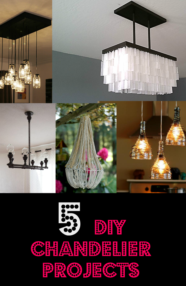 Untitled chandelier ideas chandeliers diy light fixtures light project decor crafts