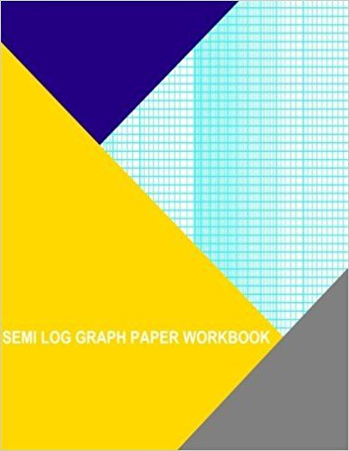 Semi Log Graph Paper Workbook 52 Divisions (Long Axis) By 2 Cycle - graph paper with axis