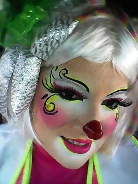 cute clown faces - 480×640