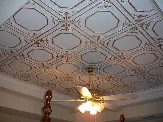 Topkapi Palace Styrofoam Ceiling Tile 20 X20 R32c