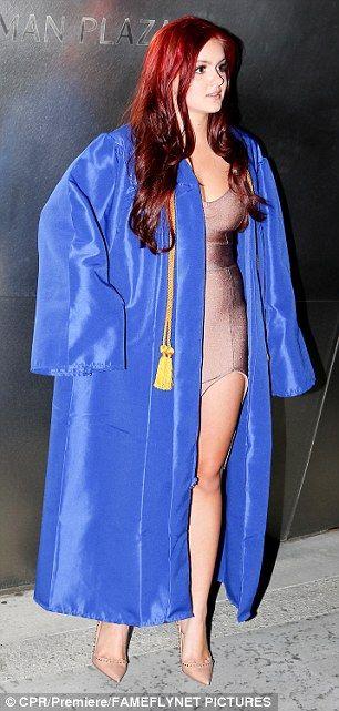 what to wear under graduation gown in winter