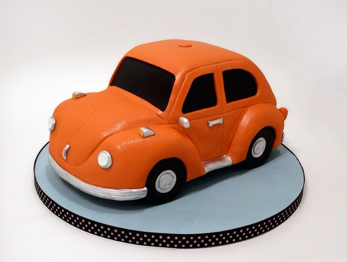 VW Bug Cake. For the Birthday Babe...KJF