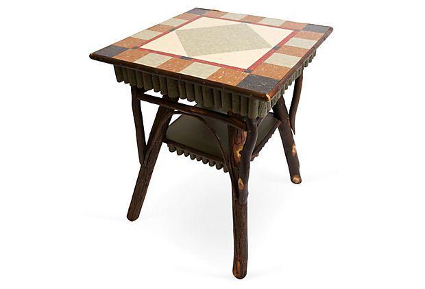Large Larken Table, Maple/Multi on OneKingsLane.com