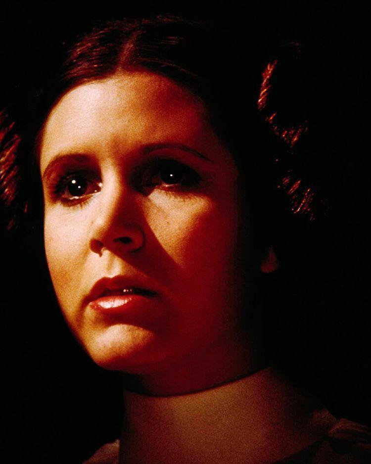 """Today we're celebrating the galaxy's best princess/senator/rebel hero/firecracker. Happy birthday to Carrie Fisher! #StarWars"""