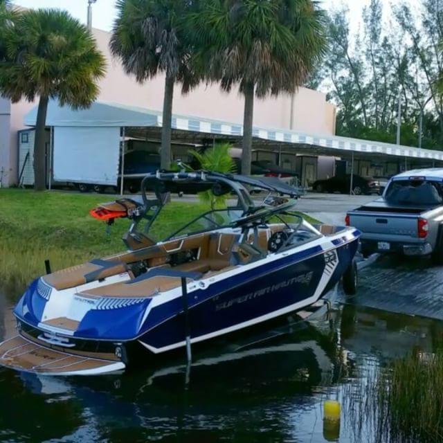 Super Air Nautique G23 From The Factory To The Water Miaminautique Nautiqueboats Superairnautique G23 Drivingdreams Wakeboard Boats Ski Boats Boat