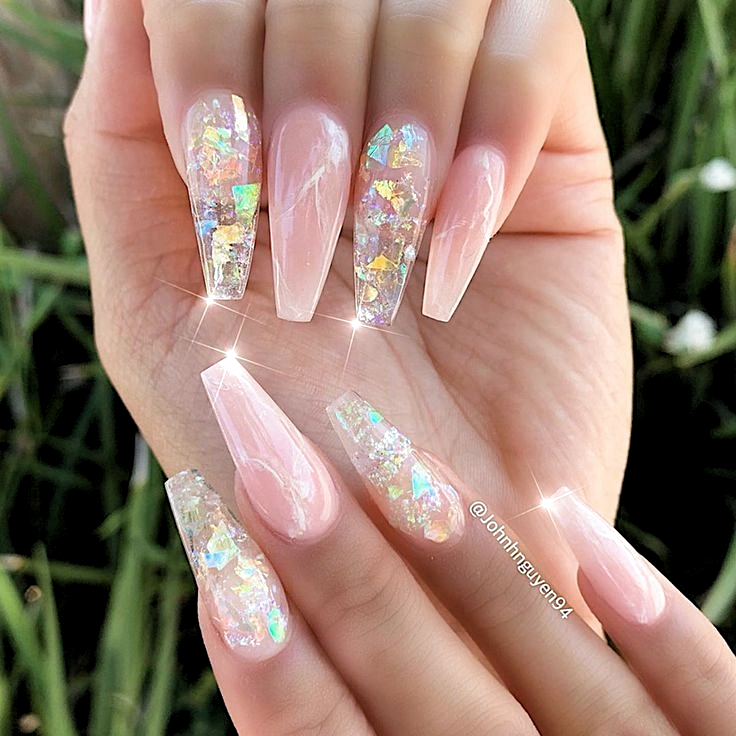 Photo of #nails #nailart #naildesigns #jellynails gelé negle, gelé negle akryl, gelé ….