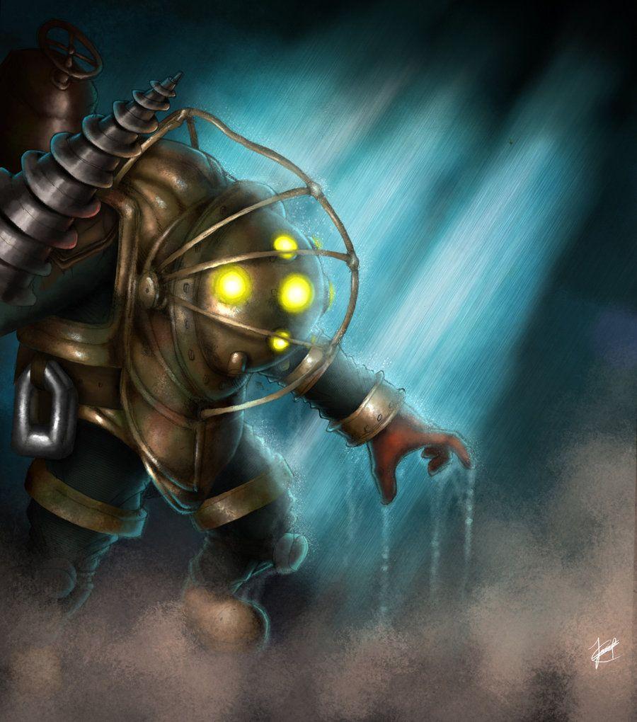 Bioshock - Big Daddy by Thrakks on DeviantArt