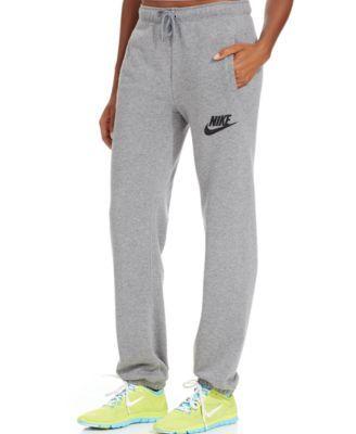 9f5b2aacde Nike Rally Fleece Sweatpants - Pants   Capris - Women - Macy s