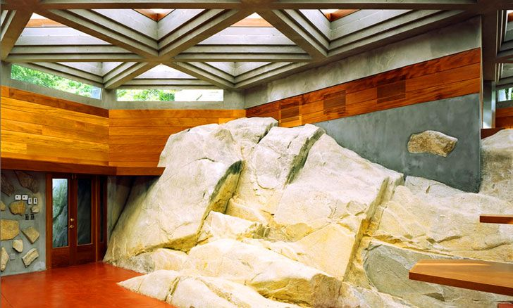 Frank lloyd wright designed massaro house and private island for sale in ny