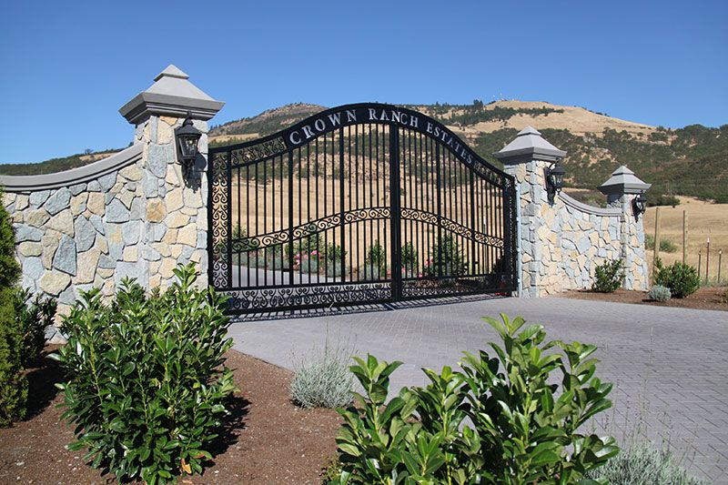 Home Security Cameras And Gates Gated Security Luxury