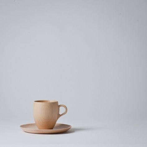 mug & saucer set // rina ono . cara