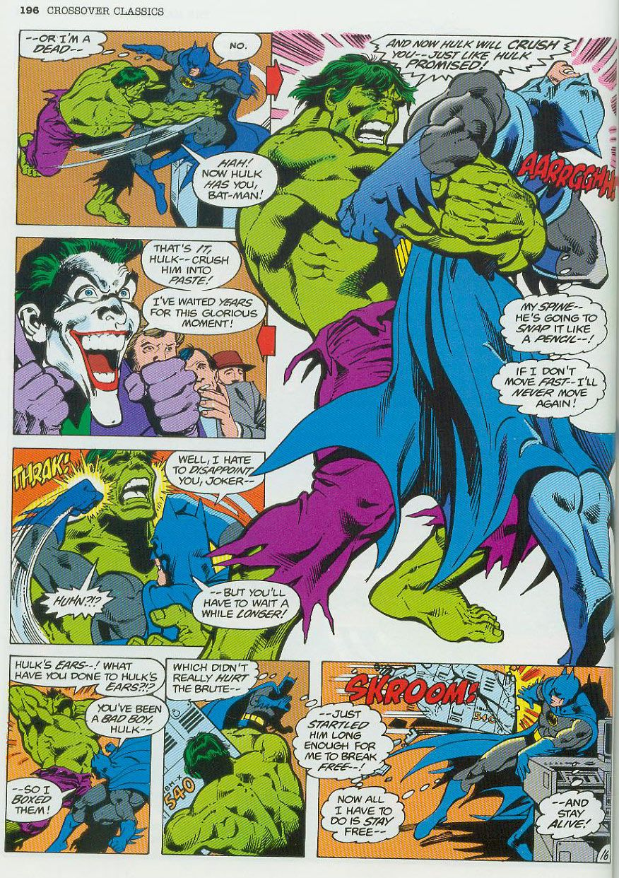 hulk vs batman comic books and graphic novels
